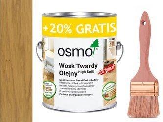 OSMO 3065 wosk twardy olej 3 L BEZBARWNY PÓŁMAT