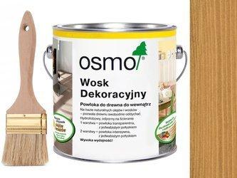 OSMO 3164 wosk dekoracyjny KOLOR DĄB 0,75L GRATIS