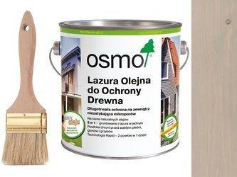 OSMO 906 Lazura Ochronna do drewna SZARY 2,5L