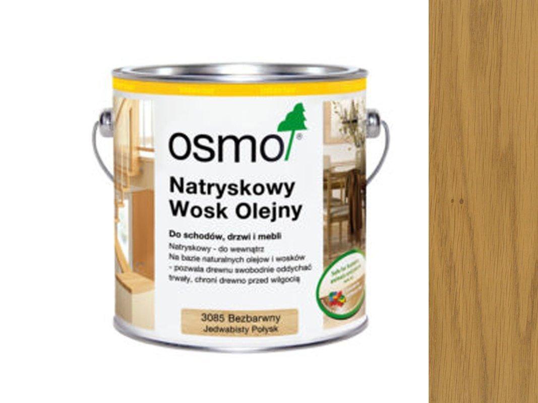 OSMO 3010 WOSK OLEJNY SUROWE DREWNO 10L