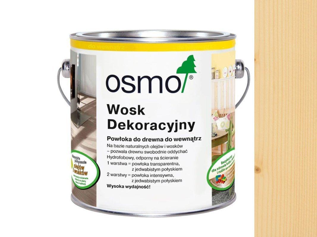 OSMO 3101 wosk dekoracyjny BEZBARWNY 125ml