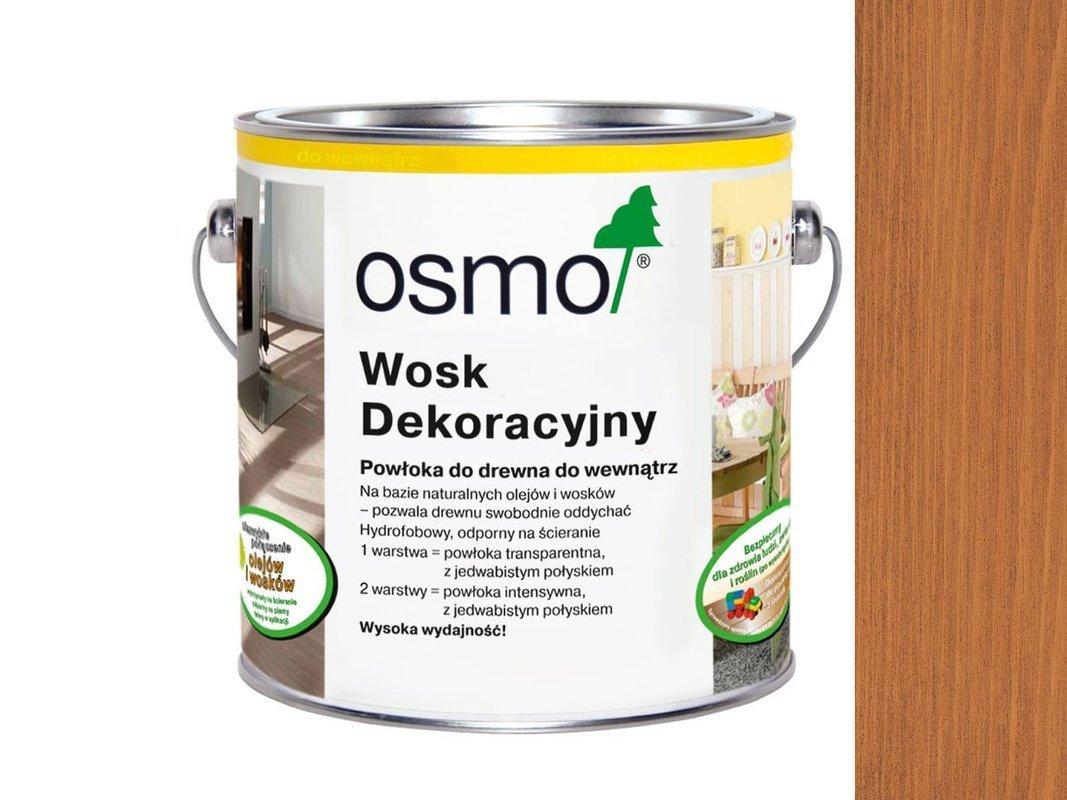 OSMO 3137 wosk dekoracyjny KOLOR WISNIA 0,125L