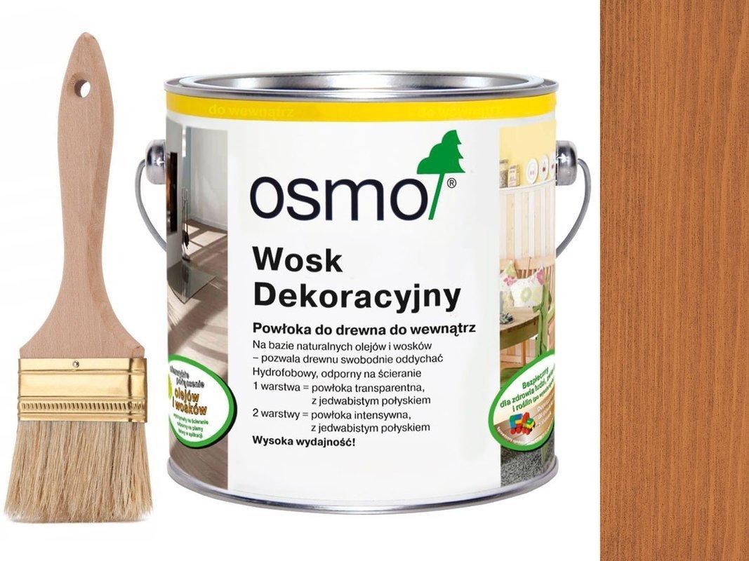 OSMO 3137 wosk dekoracyjny KOLOR WIŚNIA 2,5L