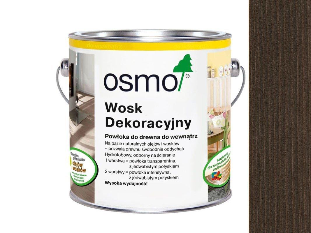 OSMO 3161 wosk dekoracyjny KOLOR HEBAN 0,125L