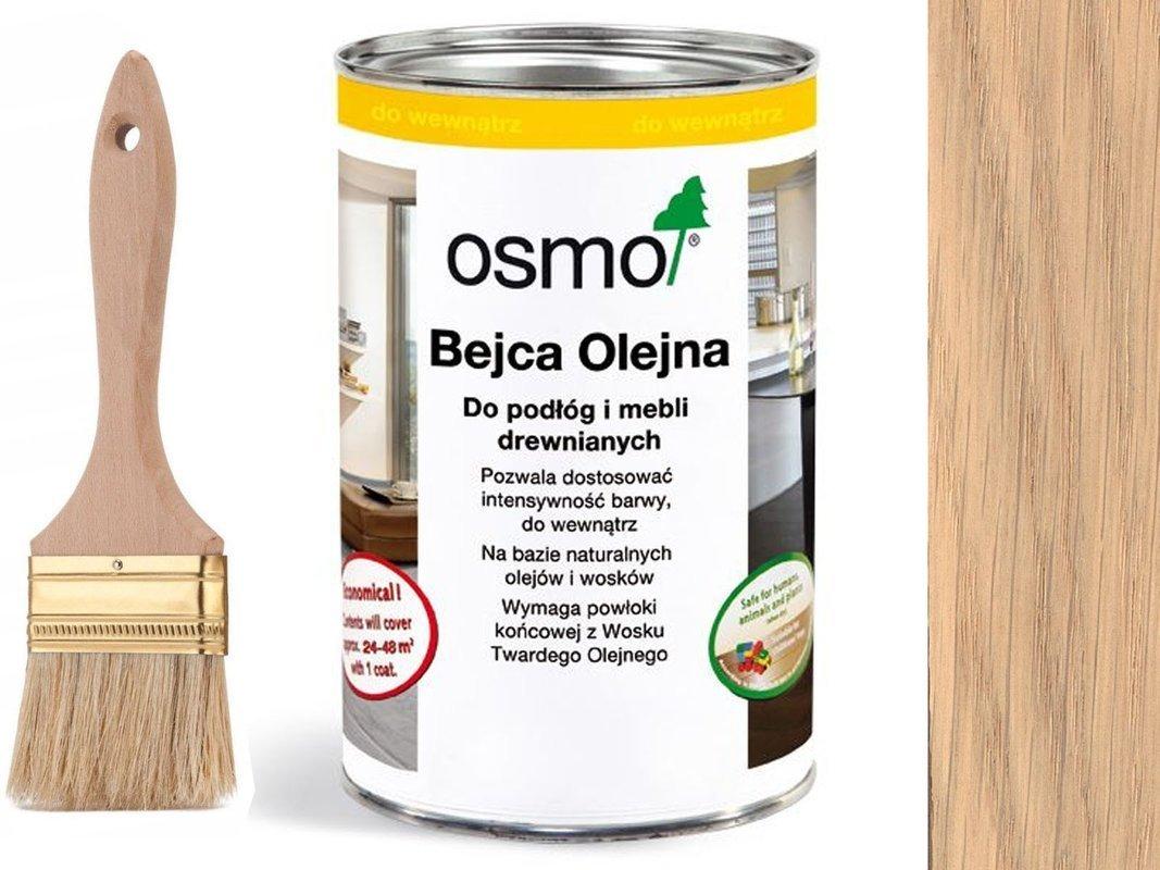 OSMO 3519 Bejca Olejna podłogi SUROWE DREWNO 1L