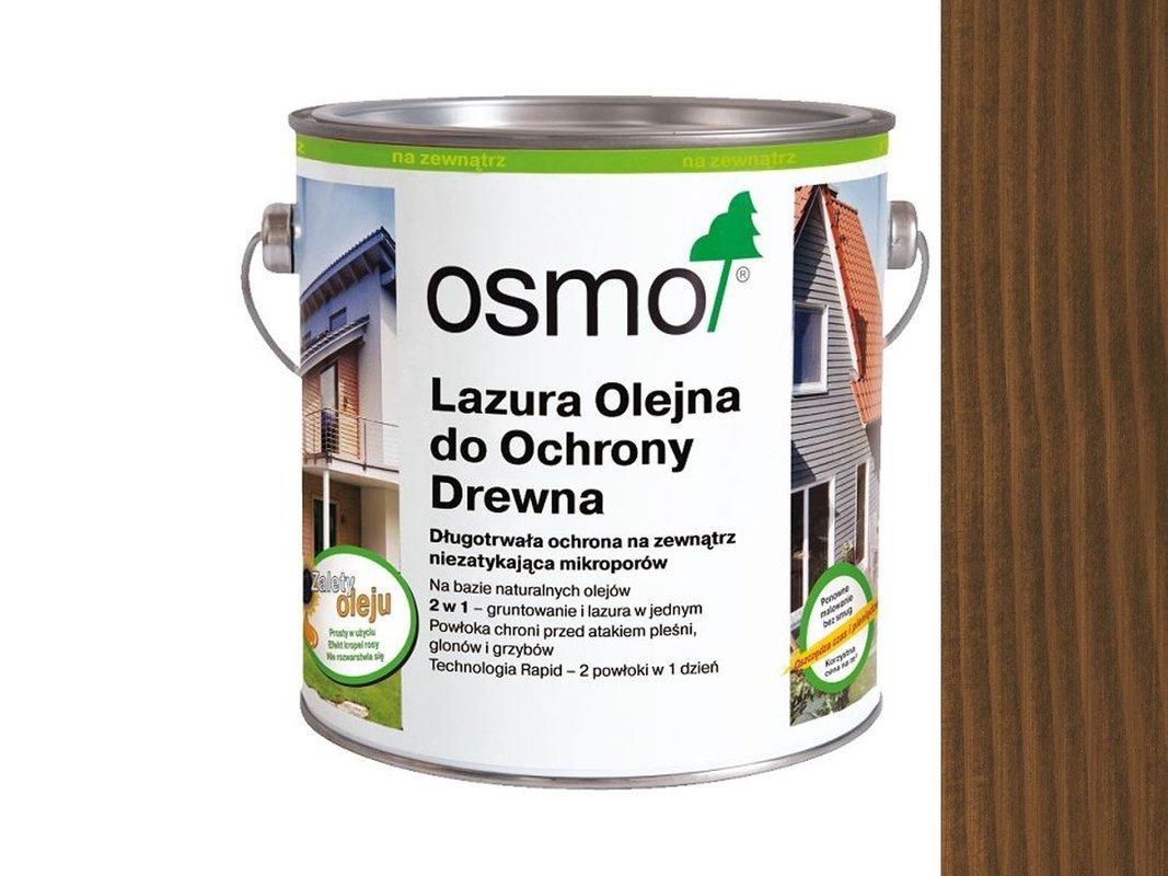 OSMO 707 Lazura Ochronna do drewna ORZECH 0,125L