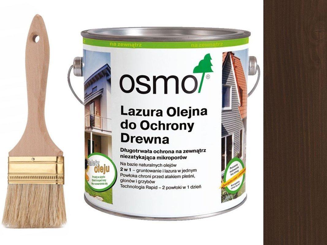 OSMO 727 Lazura Ochronna drewno PALISANDER 0,75L