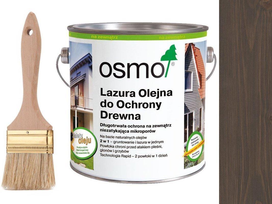 OSMO 907 Lazura Ochronna do drewna SZARY 0,75L