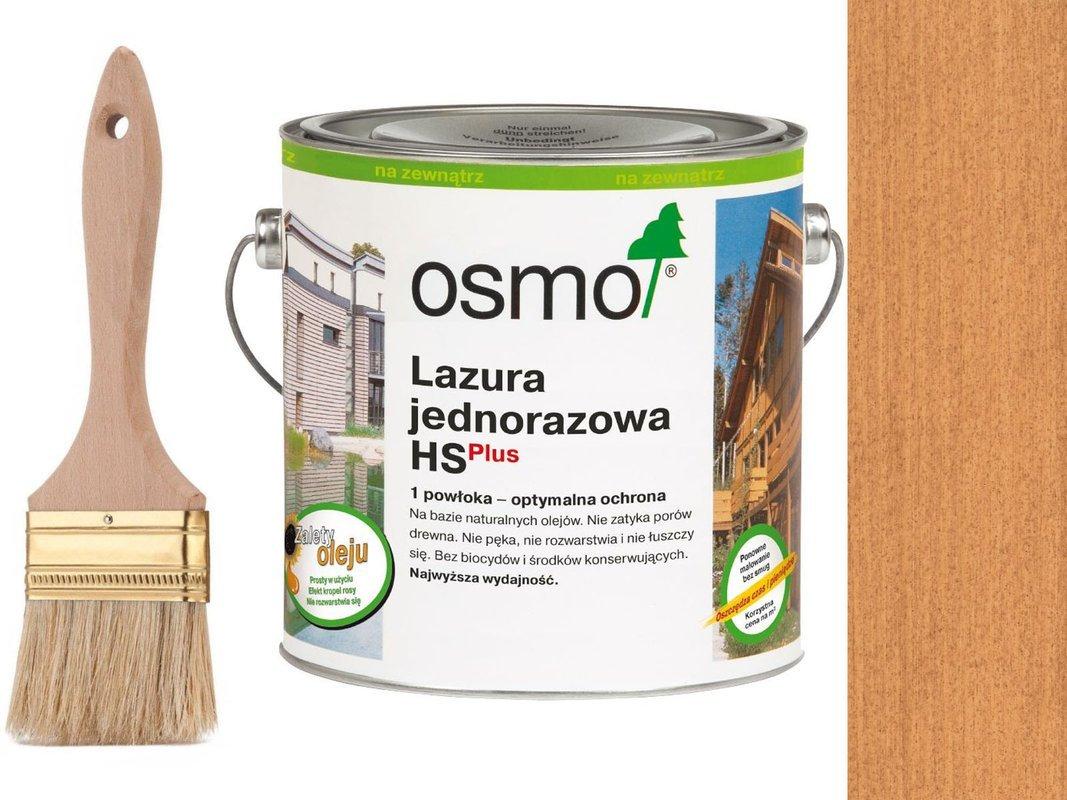 OSMO Lazura Jednorazowa 9236 MODRZEW 0,75L GRATIS