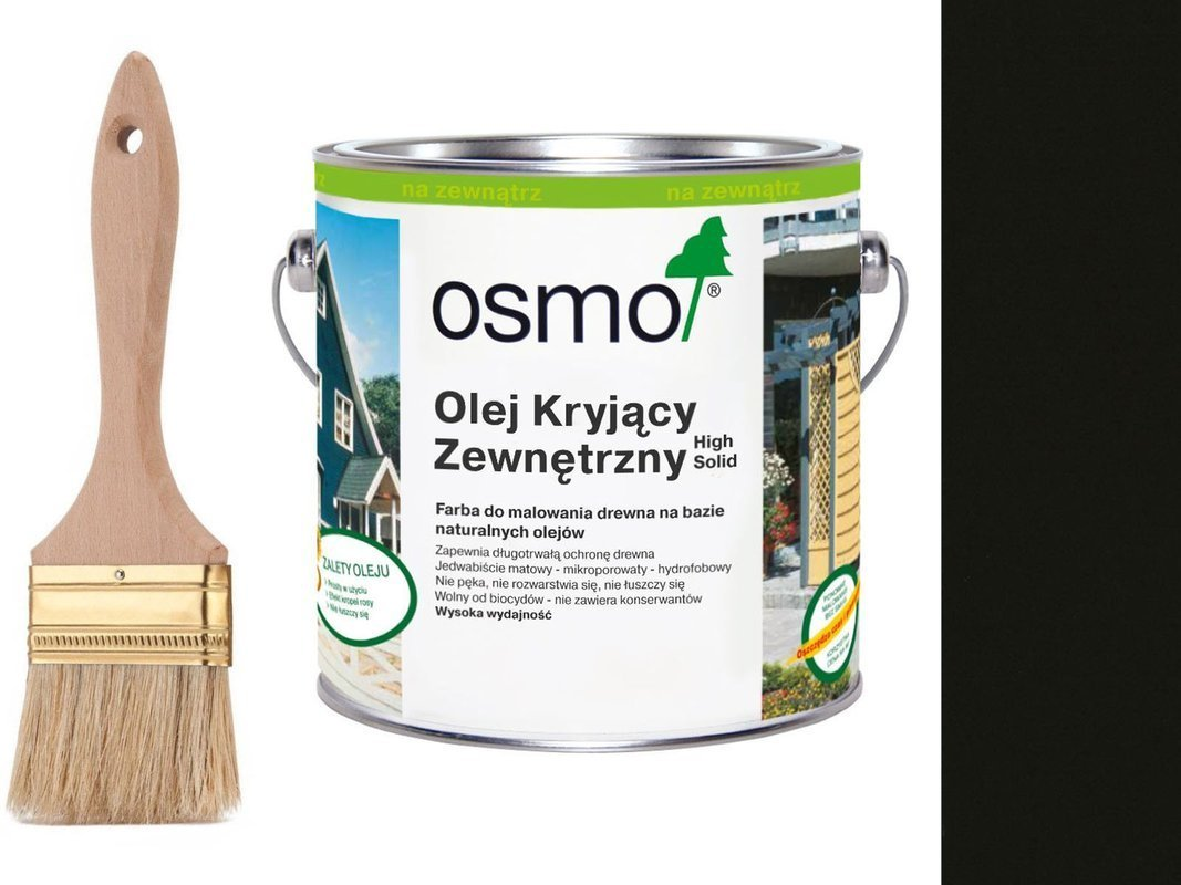 OSMO Olej Kryjący 2703 CIEMNY SZARY 750ml + GRATIS