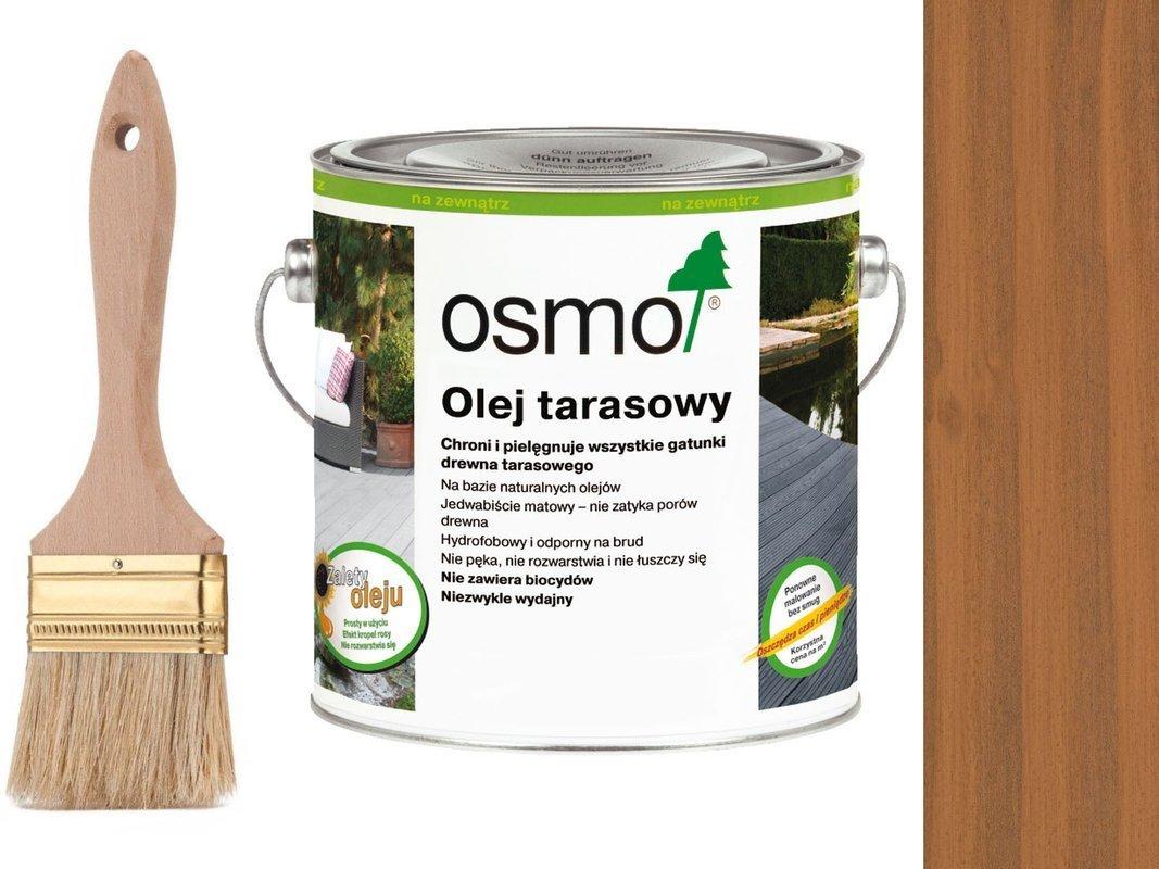 OSMO Olej do Tarasów 004 DAGLEZJA 2,5L + GRATIS