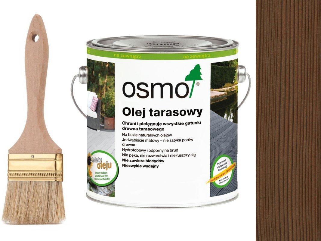 OSMO Olej do Tarasów 010 TERMODREWNO 2,5L GRATIS
