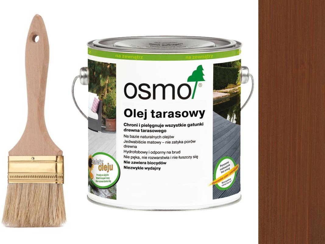OSMO Olej do Tarasów 016 BANGKIRAI 25L + GRATIS