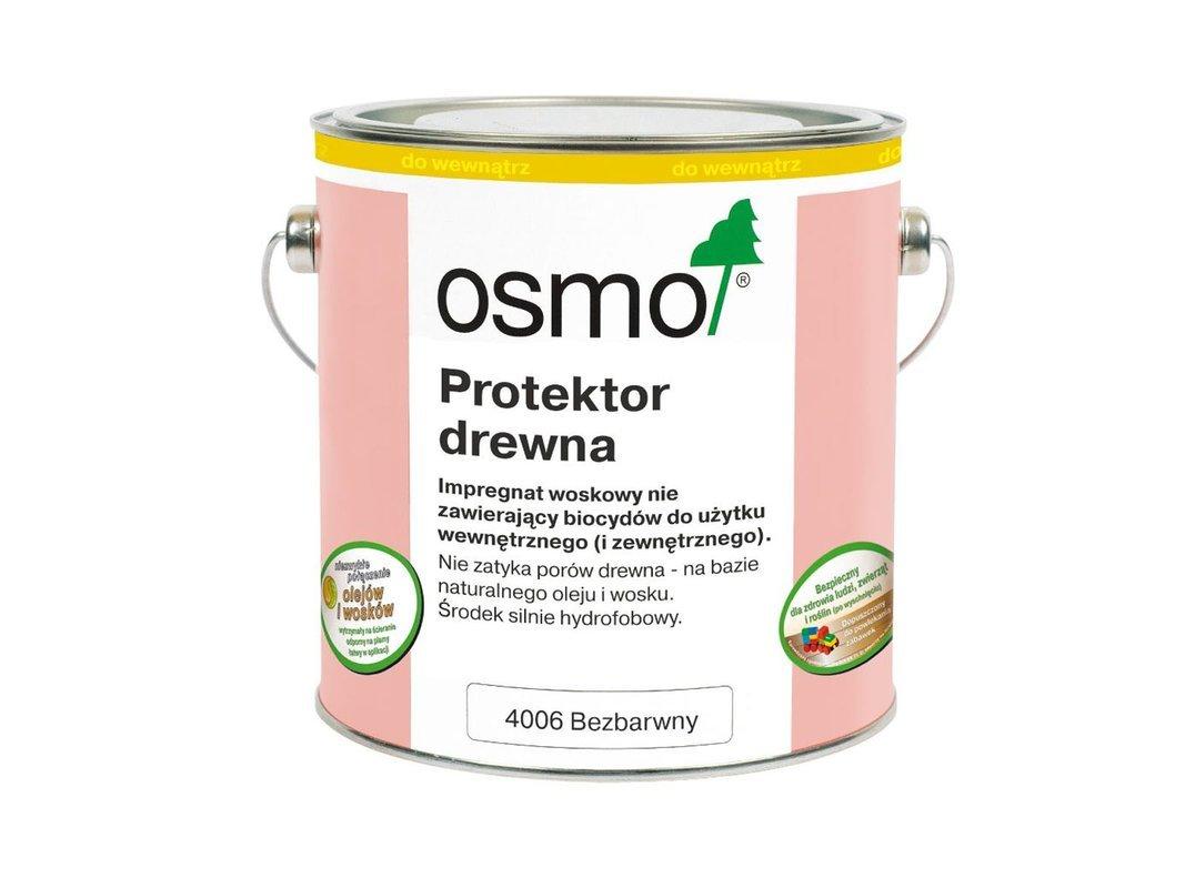 OSMO Protektor do Drewna BEZBARWNY 4006 0,75L