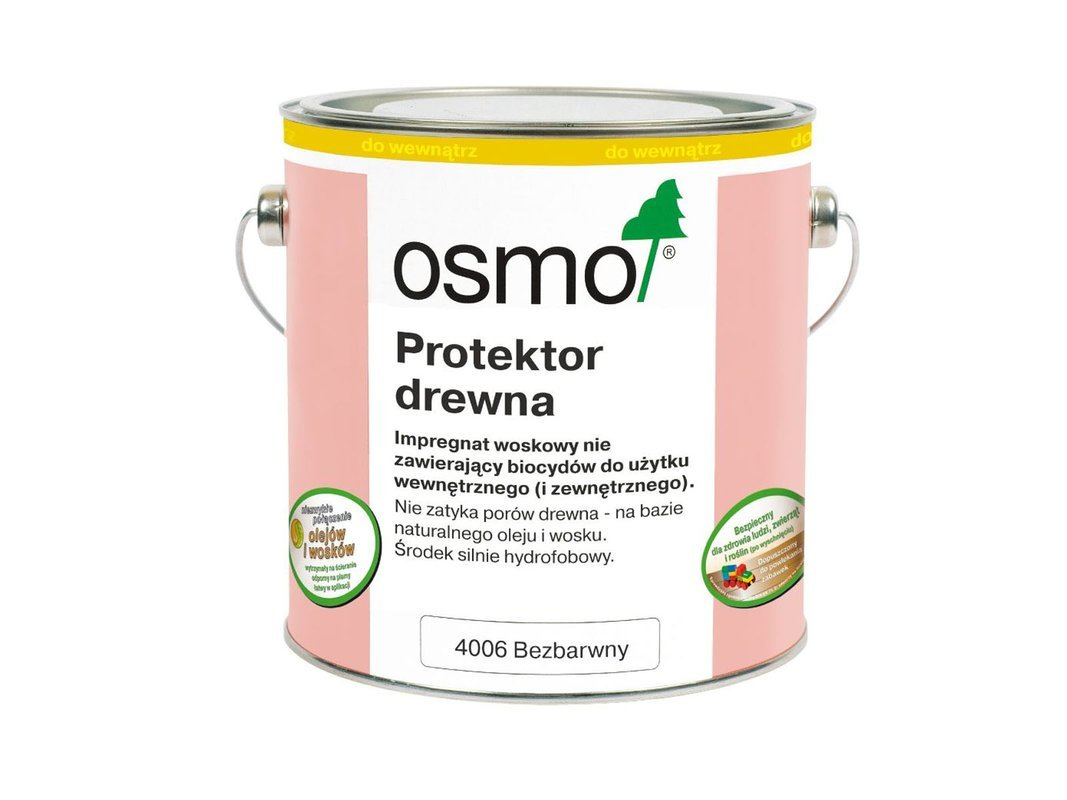 OSMO Protektor do Drewna BEZBARWNY 4006 25L