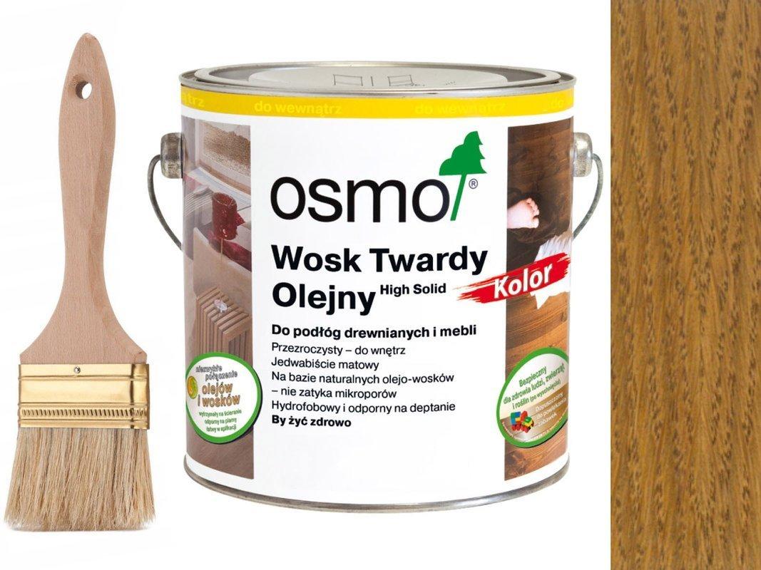 Osmo 3072 wosk twardy olejny olej 25 L BURSZTYN